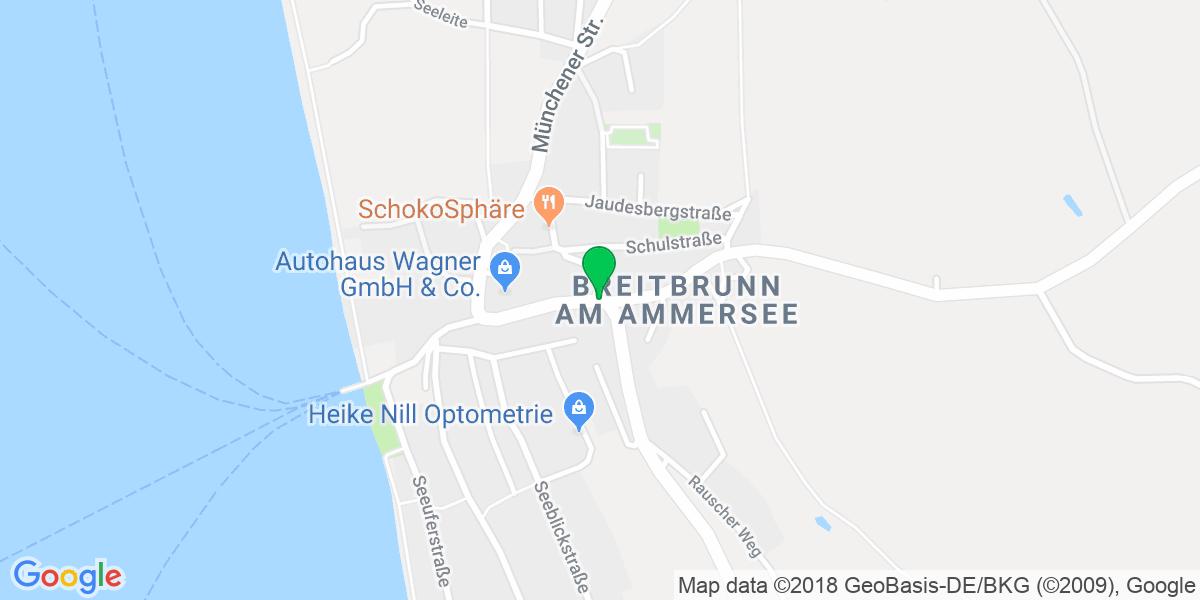 Landkarte - Breitbrunn